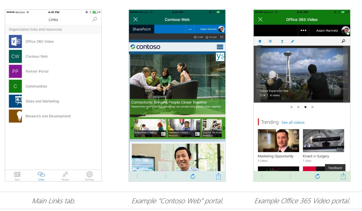 sharepoint online app Digital Workplace