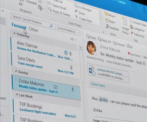 microsoft ignite @mentions outlook