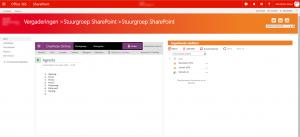 caase slim digitaal vergaderen sharepoint
