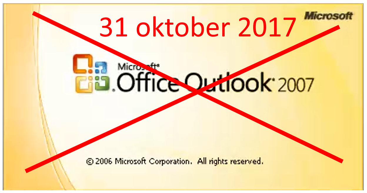 Office2007 Office365 end of support